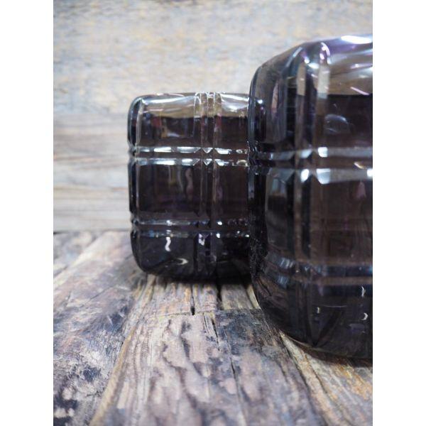 Lysglass firkantet m/runde hjørner