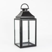 Lanterne sort 50 cm