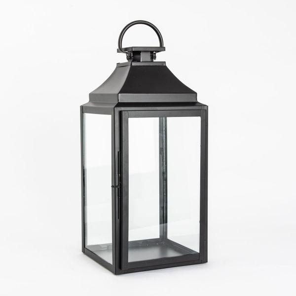 Lama Lanterne sort 50 cm