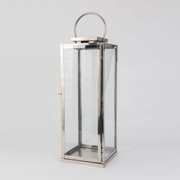 Lanterne rustfritt stål