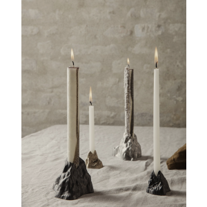 Stone Candle holder - liten