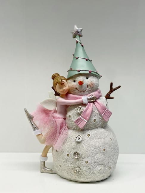 Snømann og ballerina