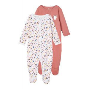 Pysj 2pk med knepping og fot Baby Enhjørning