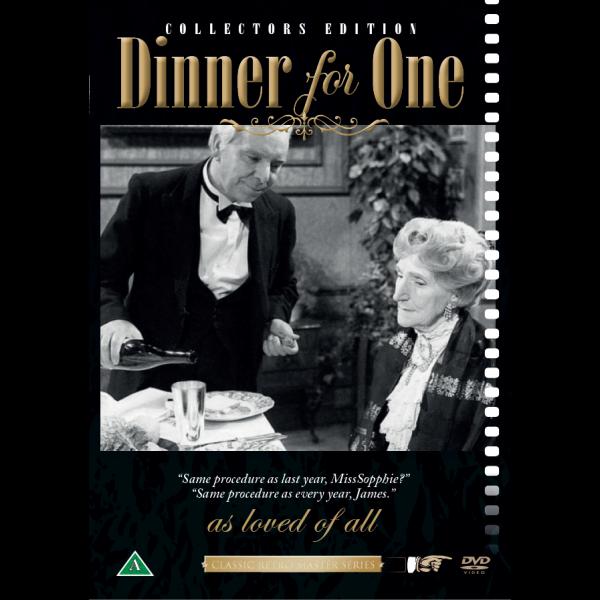 Grevinnen og hovmesteren DVD - Dinner for one