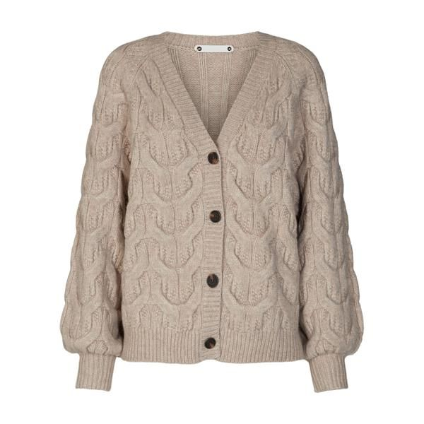 Jennese Cable Cardigan