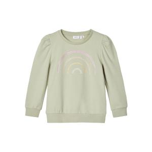 Teate langermet genser med pufferm Mini