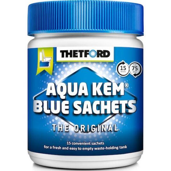 Sanitærvæske Aqua Kem Blue Sachets 15ds