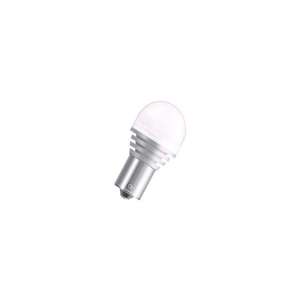 Osram 12V LED pære, 4W, P21W, BA15s, Warm White (7556WW)