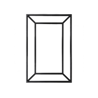 Speil Geneve sort eik