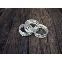 Serviettring wire silver