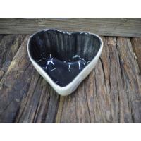 Skål hjerte svart