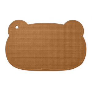 LIEWOOD - SAILOR BADEMATTE MR BEAR MUSTARD