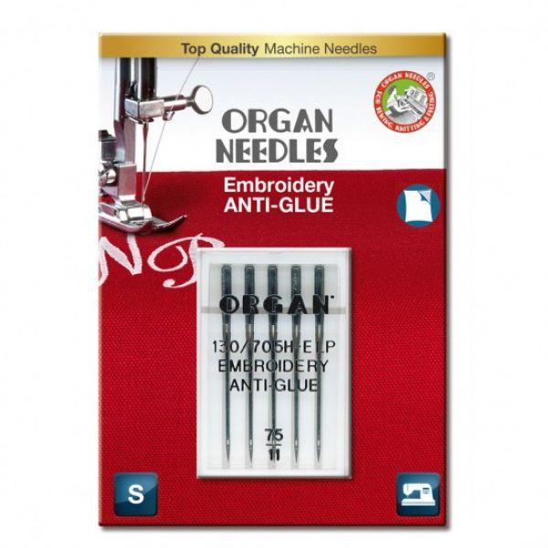 Organ anti-glue embroidery 75