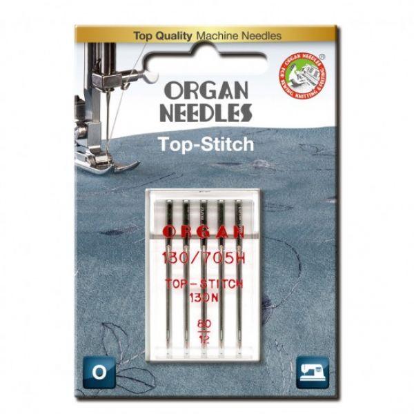 Organ Top stitch 80 - 5 pack