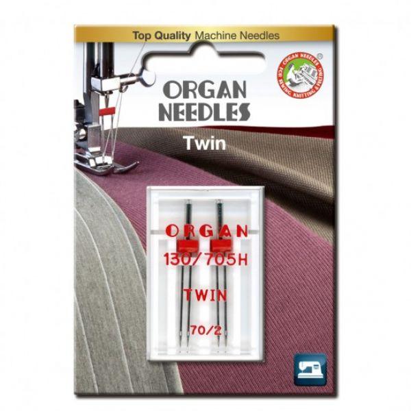 Organ Tvilling nål