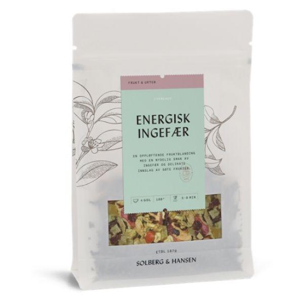 Energisk ingefær te