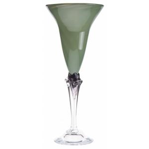 Knapstad Glass - Dus Grønn