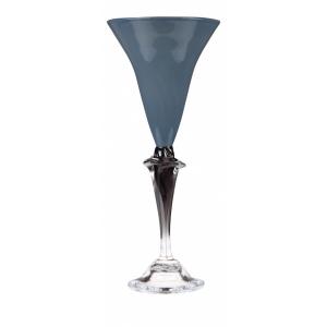 Knapstad Glass - Dus Blå