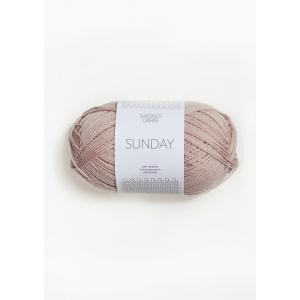 Sunday 3511 Pudder Rosa - Sandnes Garn