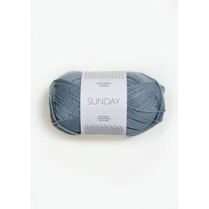 Sunday 6501 Isblå - Sandnes Garn
