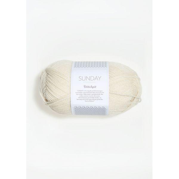 Sunday Petite Knit 1012 Whipped Cream - Sandnes Garn