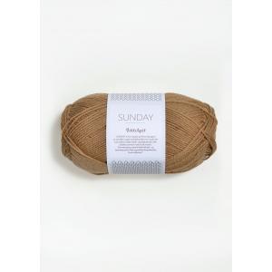 Sunday Petite Knit 2542 Camel - Sandnes Garn
