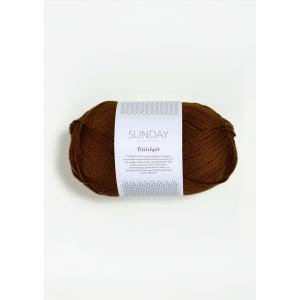 Sunday Petite Knit 2564 Chocolate Truffle - Sandnes Garn