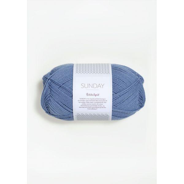 Sunday Petite Knit 6043 Baby Blue Eyes  - Sandnes Garn