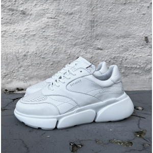 Cleo Leather - White Gard