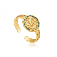 Gold Emperor Adjustable Ring