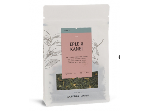 Grønn Eple/Kanel Te