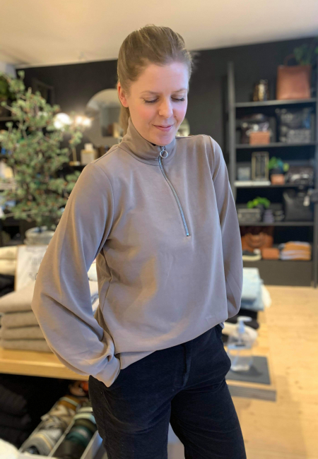 Tenny zip genser muldvarp