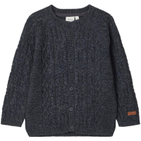Name it Ombre Blue Wrilla Wool Cardigan