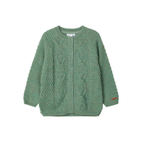 Name it Nostalgia Green Bay Wrilla Wool Cardigan