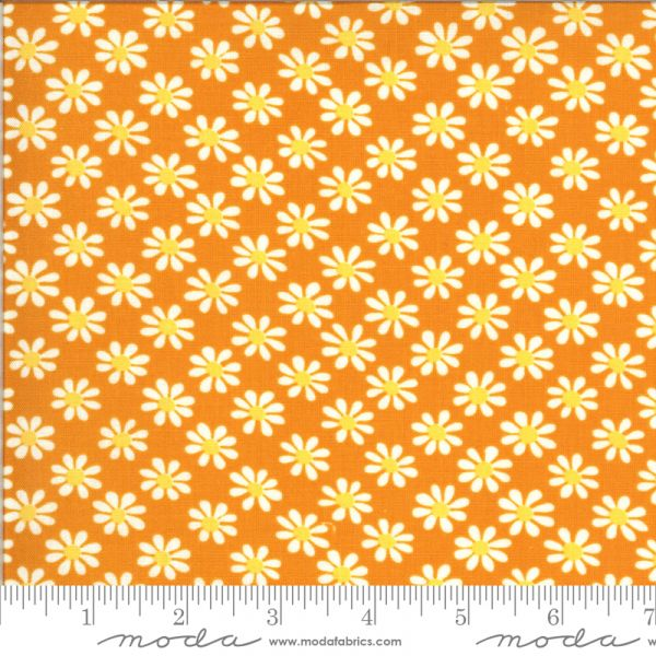 A Blooming Bunch orange floral