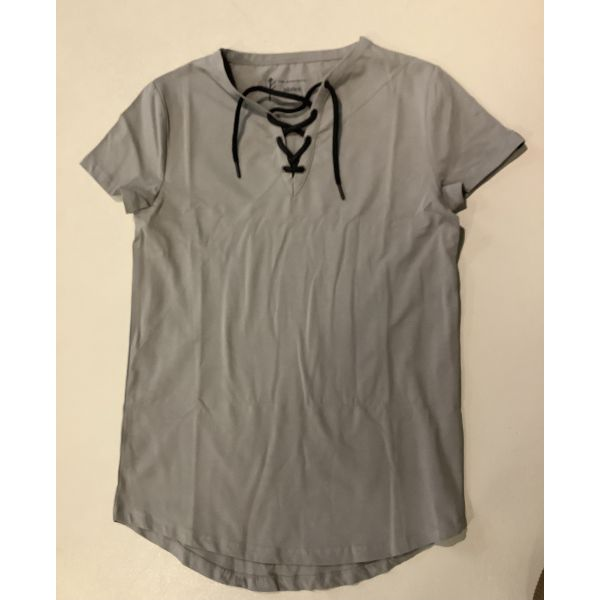 Fleinsopp Munin t-skjorte m/snøring