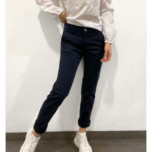 Miley Chino - Navy Blazer