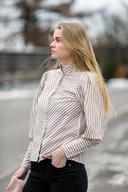 Yvon Stripe Shirt