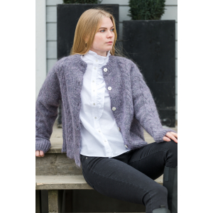 Dolsea Cardigan, Purple Melange