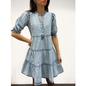 Lucy Dress - Ice Blue