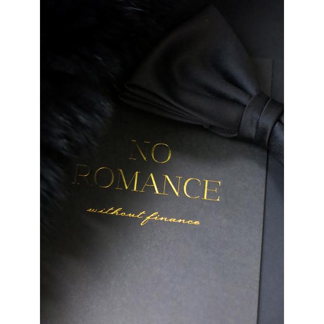 NO ROMANCE WITHOUT FINANCE