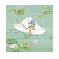Belle & Boo bilde – My paper boat