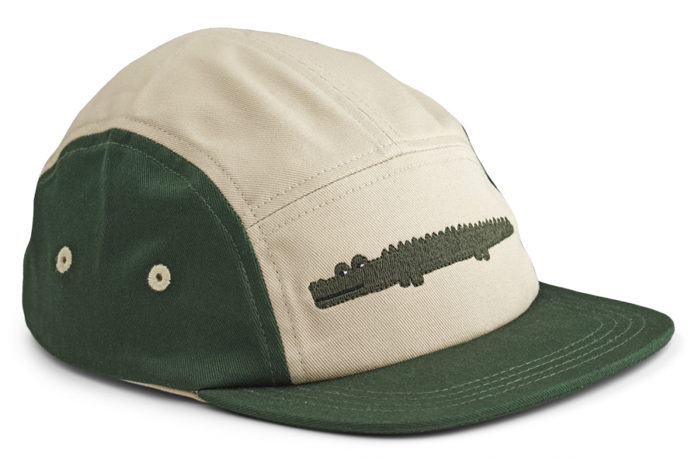 LIEWOOD - RORY CAP CROCODILE GARDEN GREEN MIX
