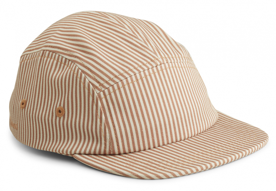 LIEWOOD - RORY CAP STRIPE TUSCANY ROSE/SANDY