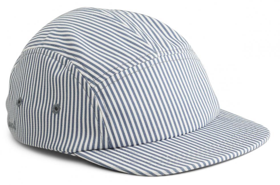 LIEWOOD - RORY CAP STRIPE BLUE WAVE/CREME