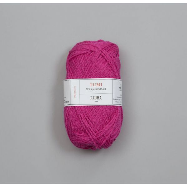 Tumi  B133 Skarp rosa - Rauma Garn