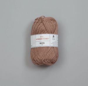 Rauma 3-tråds strikkegarn - 1487 Beige