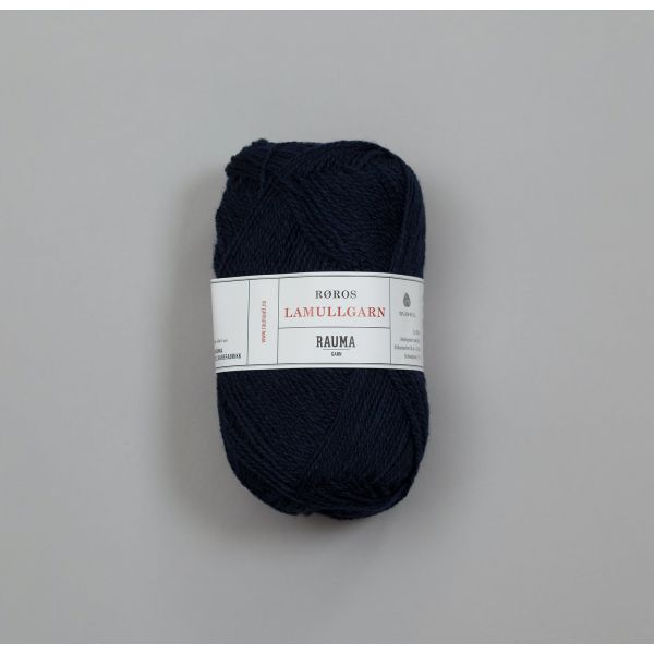 Rauma Garn Lamull - L57 Marineblå