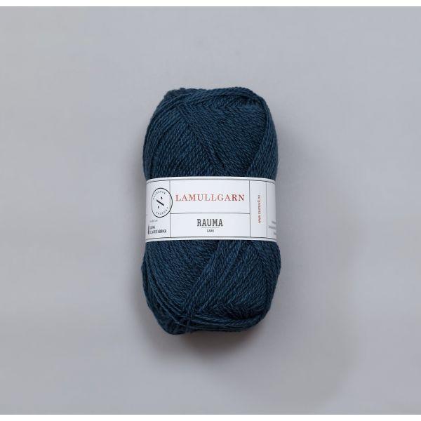 Rauma Garn Lamull - L26 Gråblå