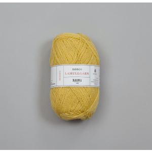 Rauma Garn Lamull - L53 Lys gul